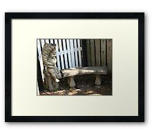 A nook and wee cranny Framed Print