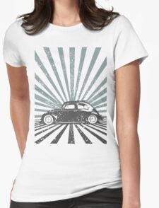 beetle2 Womens Fitted T-Shirt
