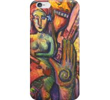 Ancient Fertility Goddess of Mexico iPhone Case/Skin