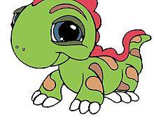 Littlest Pet Shop Lizard by BelovedxCisque