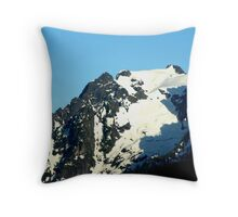 Snow Up Above Throw Pillow