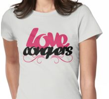Love conquers Womens Fitted T-Shirt