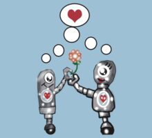 Robots in Love by Rajee