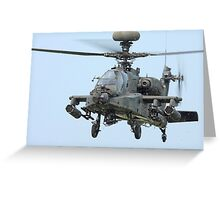 Apache Longbow Greeting Card