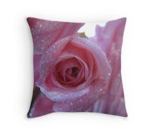 Petals to the Metal! Throw Pillow