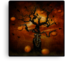 The Halloween Tree Canvas Print