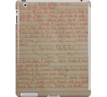 Brief History of the Cuban Revolution iPad Case/Skin