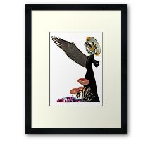 Amidst Wreckage Framed Print