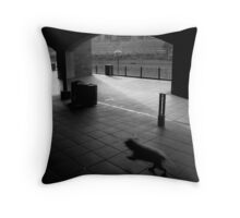 Sly Dog Throw Pillow