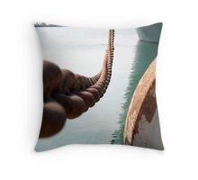 Anchor Chain Throw Pillow