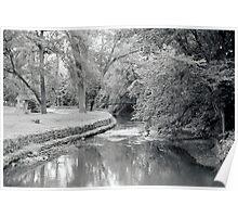 Bridge Over the River Poster