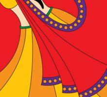 Dancing Lady Sticker
