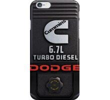 Cummins Diesel Engine iPhone Case/Skin
