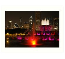 Come to Chicago Art Print