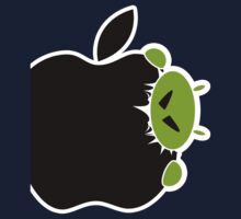 Android Bite Apple Kids Tee