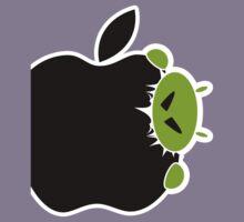 Android Bite Apple Kids Tee