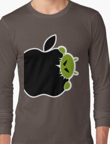 Android Bite Apple Long Sleeve T-Shirt