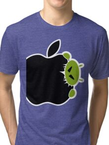 Android Bite Apple Tri-blend T-Shirt