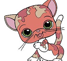 Littlest Pet Shop Cat by BelovedxCisque