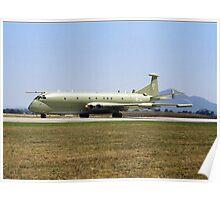 RAF Hawker Siddeley Nimrod at Australian Airshow, Avalon 2001 Poster