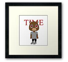 Yeezy TIME Framed Print