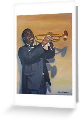 Louis Armstrong by Boz Vakhshori