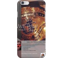 Belt Flyer Retro Brassy SFWWC iPhone Case/Skin