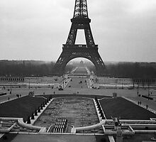 Eifel Tower - in 1945 by Jim Haley