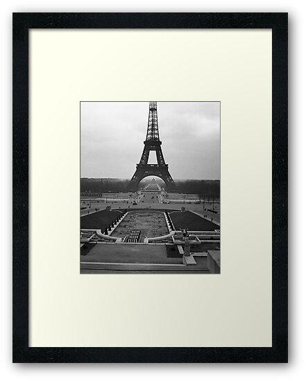 Eifel Tower - in 1945 by Jim Haley