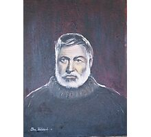 Ernest Hemingway. Photographic Print