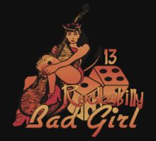 Rockabilly Bad Girl by calroofer