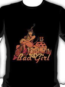 Rockabilly Bad Girl T-Shirt