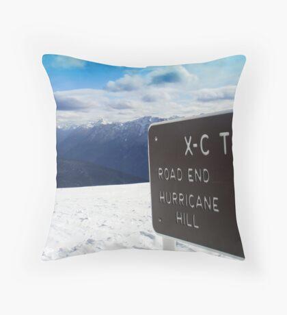 View from Hurricane Ridge!! Throw Pillow
