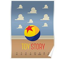Toy Story Minimalism Poster