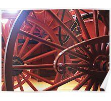 Wheel History Poster