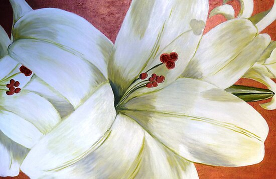 White Lily by Angela Palibrk