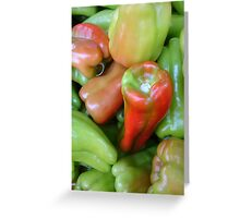 Peppers! Greeting Card