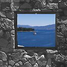 Emerald Bay Window by Jon  Johnson