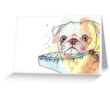 Parker the Pug Greeting Card