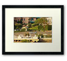 Smart Framed Print