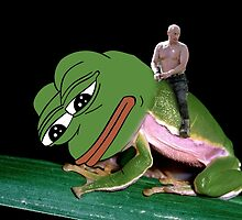 Putin Riding Pepe Frog by pepe-leaker