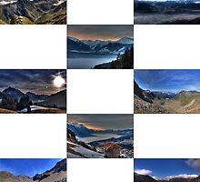 Austrian Mountain Views by Stefan Trenker