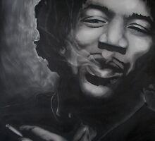 Jimmy Hendrix by Darren Baldock