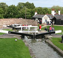 Foxton Locks, Leicestershire (5144) by Tony Payne