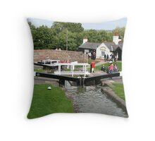 Foxton Locks, Leicestershire (5144) Throw Pillow