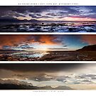 Kaikoura Dawn Triptych by KensKaikoura
