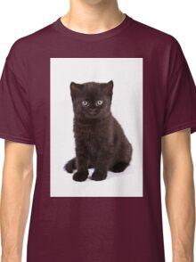 Black kitten Classic T-Shirt