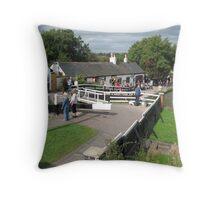 Foxton Locks, Leicestershire (5146) Throw Pillow
