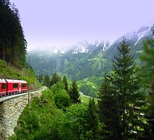 Bernina Express by Charmiene Maxwell-Batten