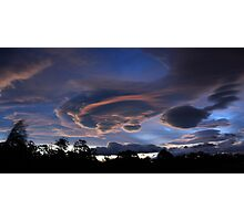 Lenticular Cloud Formation Photographic Print